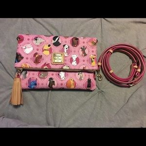 Dooney & Bourke Disney Dogs Crossbody - Pink